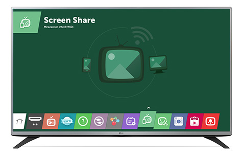 lg screen share with miracast