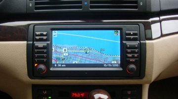 Listening to music from your Android phone or USB in your BMW E46?