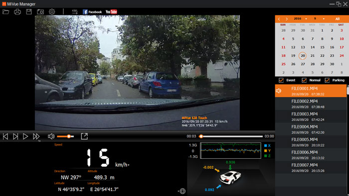 MiVue Manager for car camera