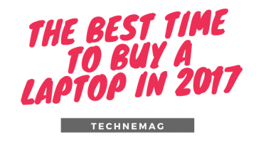 The Best Time to Buy a Laptop