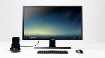 Samsung DeX converts your smartphone into an Android PC