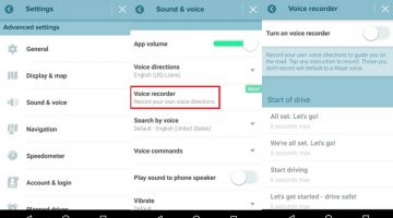 Waze lets you register your own voice